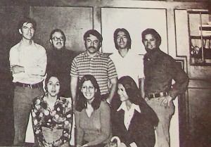 ANGF board elected in 1974