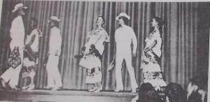 Los Lupenos de San Jose performing Yucatan at ANGF in 1975.