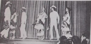 Los Lupenos de San Jose performing Yucatan at ANGF in 1975.