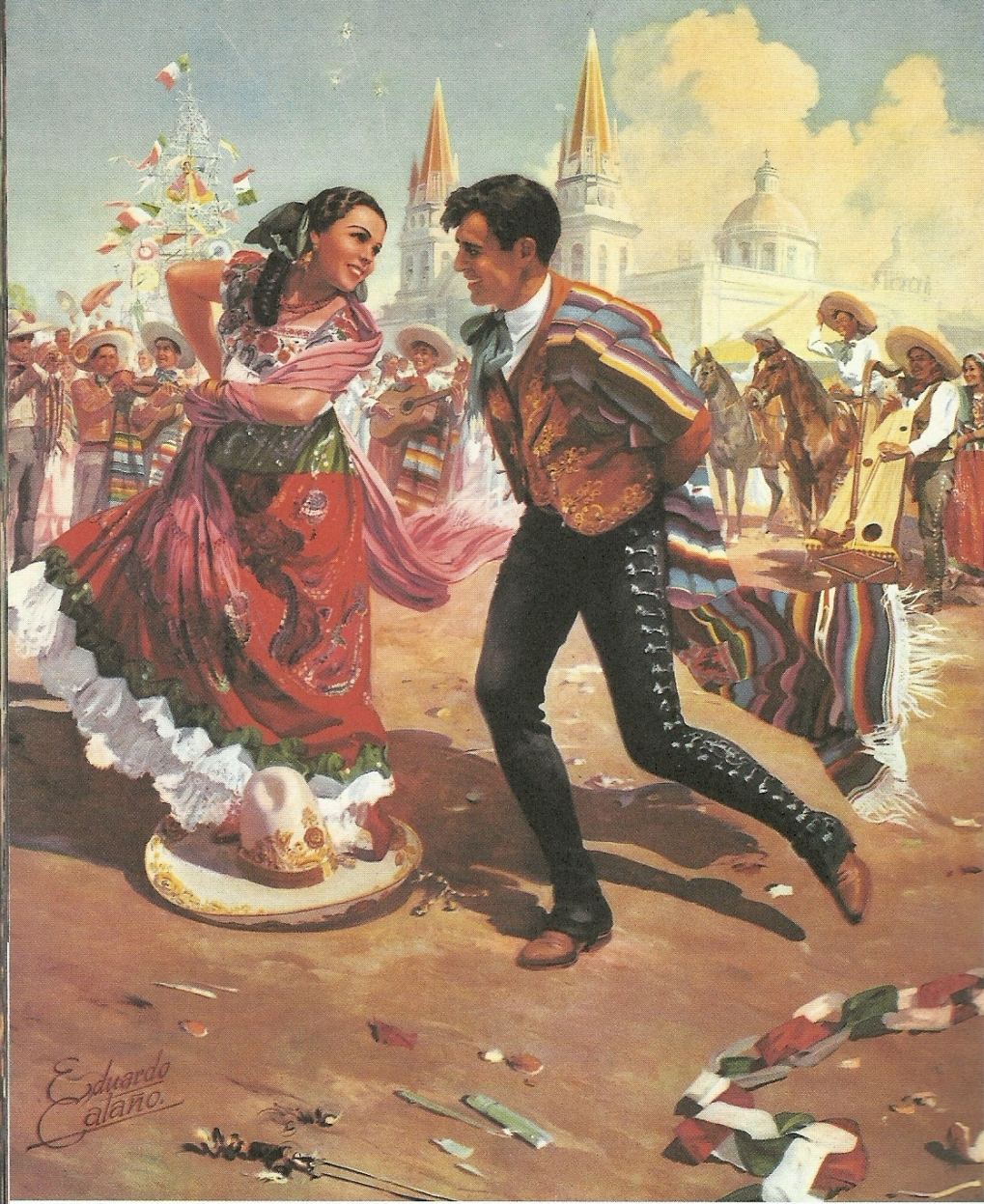 The Jarabe Tapatio