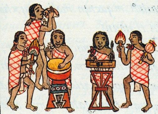Aztec Music and Dancing