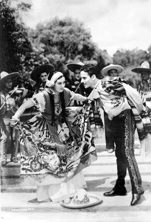 charro and china poblana of the 1930s