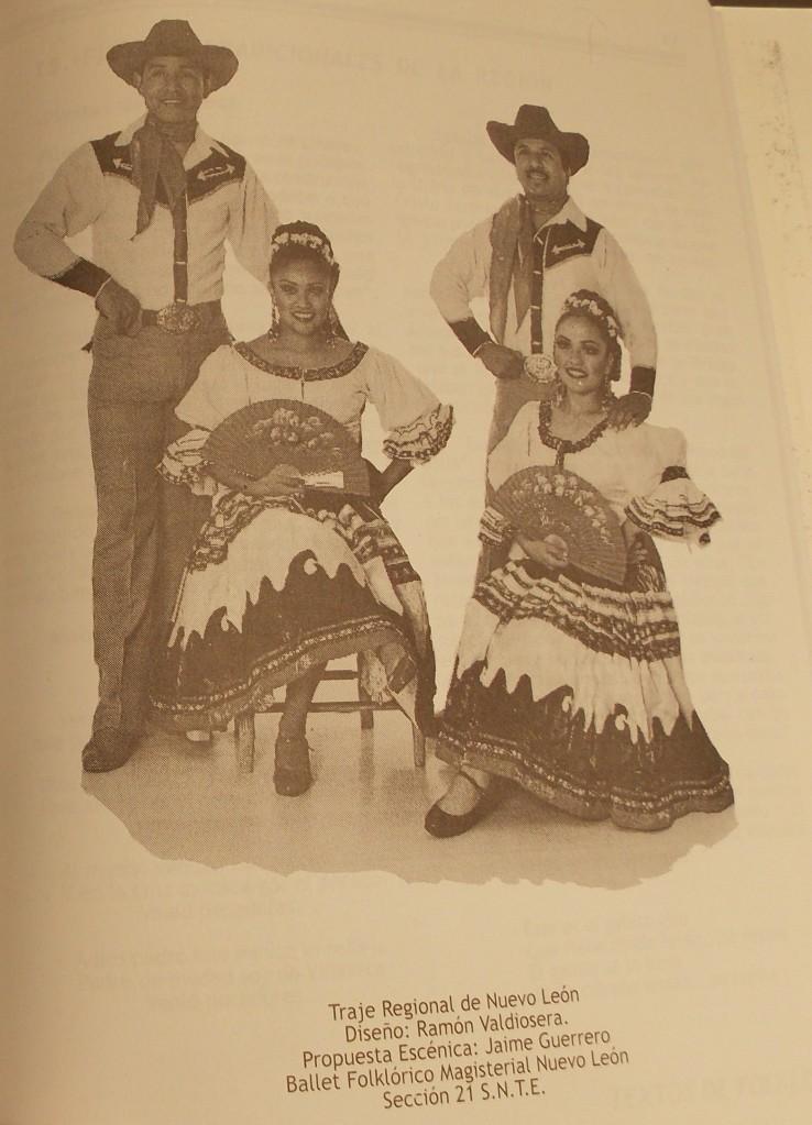Valdiosera's Nuevo Leon Costume